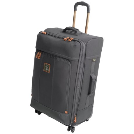 """G.H. Bass & Co. Tamarack Spinner Suitcase - 21"""" in Grey"""