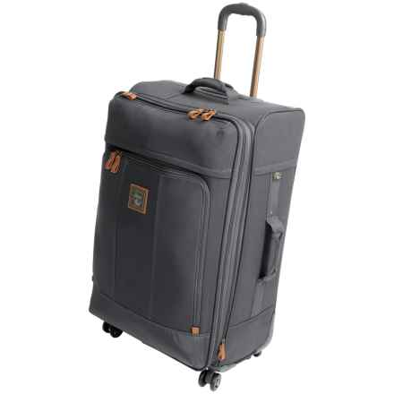 """G.H. Bass & Co. Tamarack Spinner Suitcase - 29"""" in Grey - Closeouts"""