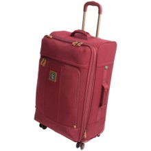 """G.H. Bass & Co. Tamarack Spinner Suitcase - 29"""" in Red - Closeouts"""