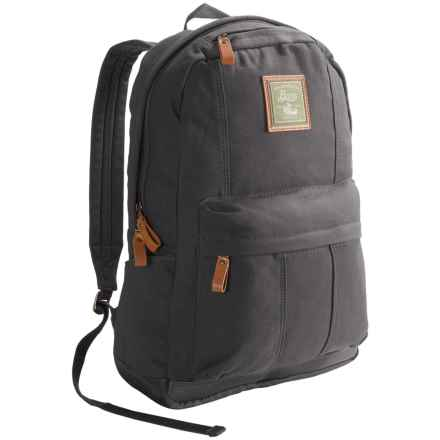 G.H. Bass & Co. Tamarack Tombstone Backpack in Grey - Closeouts