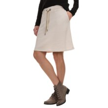 G.H. Bass & Co. Washed Terry-Knit Skirt (For Women) in Sandy - Closeouts