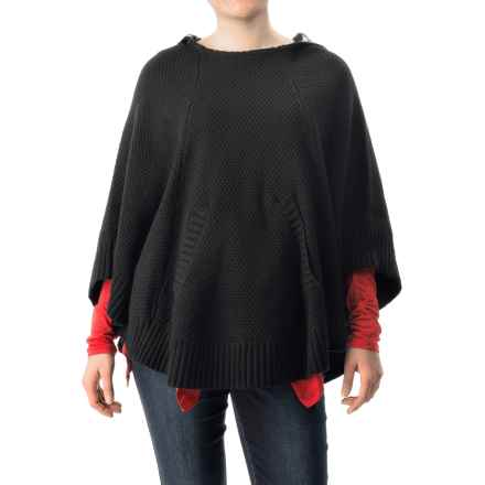 G.H. Bass & Co. Zosia Honeycomb Sweater (For Women) in Black - Closeouts