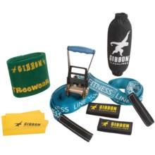 Gibbon Slacklines Fitness Slackline Kit - 15m in See Photo - Closeouts