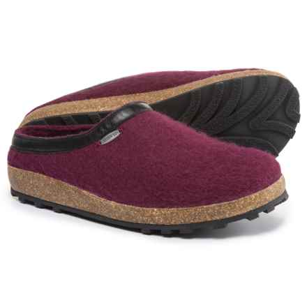 Giesswein Acadia Clogs (For Men and Women) in Bordeaux - Closeouts