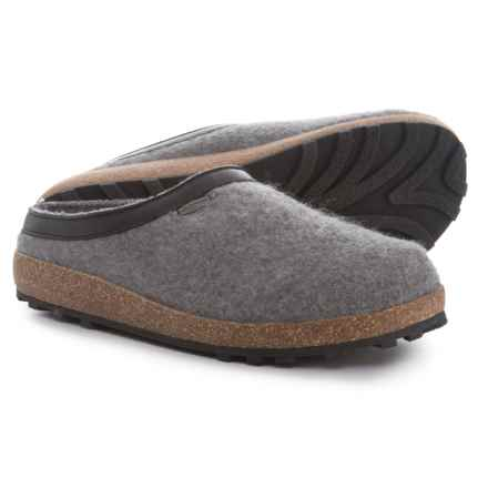 Giesswein Acadia Clogs (For Men and Women) in Slate - Closeouts