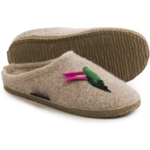 Giesswein Amy Boiled Wool Slippers (For Women) in Natural - Closeouts