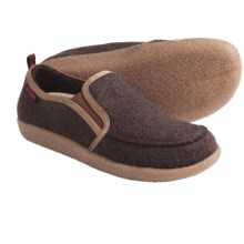 Giesswein Innsbruck Slippers - Boiled Wool (For Women) in Mocha - Closeouts