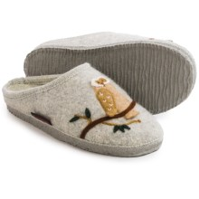 Giesswein Mado Boiled Wool Slippers (For Women) in Pebble - Closeouts