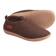 Giesswein Vent Slippers - Boiled Wool (For Women) in Mocha - Closeouts