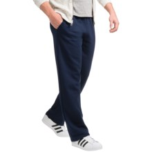 Gildan 50/50 Sweatpants - 9.3 oz. (For Men and Women) in Navy - 2nds