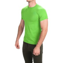 Gildan 50/50 T-Shirt - Short Sleeve (For Men and Women) in Yellow Green - Closeouts