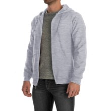 Gildan 7.5 oz. 50/50 Hoodie Sweatshirt - Zip (For Men and Women) in Grey Heather - 2nds
