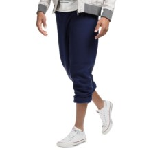 Gildan 7.75 oz. 50/50 Elastic Hem Heavyweight Sweatpants (For Men and Women) in Navy - 2nds