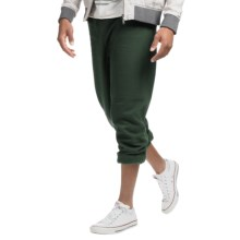 Gildan 7.75 oz. 50/50 Heavyweight Sweatpants (For Men and Women) in Dark Green - 2nds