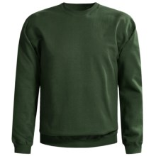 Gildan 9.5 oz. Sweatshirt - Cotton-Rich (For Men and Women) in Dark Green - 2nds