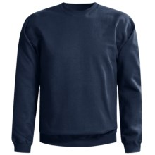 Gildan 9.5 oz. Sweatshirt - Cotton-Rich (For Men and Women) in Navy - 2nds