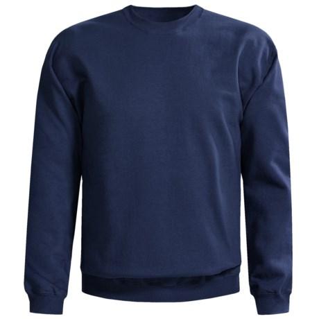 Gildan 9.5 oz. Sweatshirt - Cotton-Rich (For Men and Women) in Navy