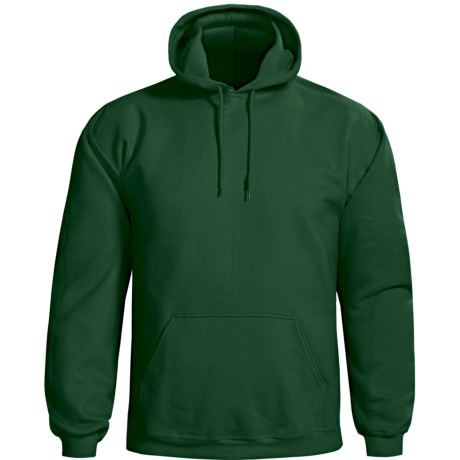 Gildan Cotton-Rich Hoodie (For Men and Women) in Dark Green