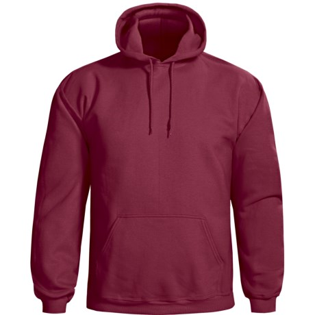 Gildan Cotton-Rich Hoodie (For Men and Women) in Wine