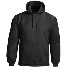 Gildan Cotton-Rich Hoodie Sweatshirt (For Men and Women) in Black - 2nds