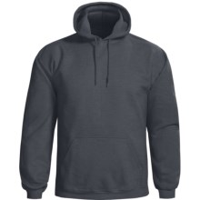 Gildan Cotton-Rich Hoodie Sweatshirt (For Men and Women) in Charcoal - 2nds