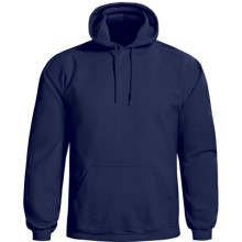 Gildan Cotton-Rich Hoodie Sweatshirt (For Men and Women) in Navy - 2nds