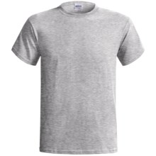 Gildan Cotton T-Shirt - 6.1 oz., Short Sleeve (For Men and Women) in Grey - 2nds