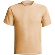Gildan Cotton T-Shirt - 6.1 oz., Short Sleeve (For Men and Women) in Wheat - 2nds