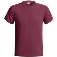 Gildan Cotton T-Shirt - 6.1 oz., Short Sleeve (For Men and Women) in Wine - 2nds