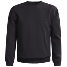 Gildan Crew Neck Sweatshirt (For Men and Women) in Black - 2nds