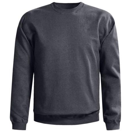 Gildan Crew Neck Sweatshirt (For Men and Women) in Charcoal Heather