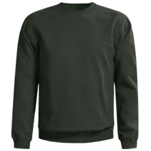 Gildan Crew Neck Sweatshirt (For Men and Women) in Dark Green - 2nds