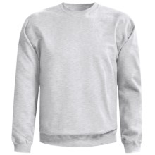 Gildan Crew Neck Sweatshirt (For Men and Women) in Light Grey Heather - 2nds