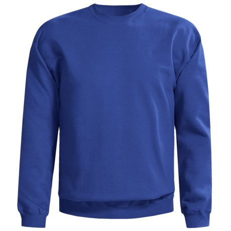 Gildan Crew Neck Sweatshirt (For Men and Women) in Royal Blue