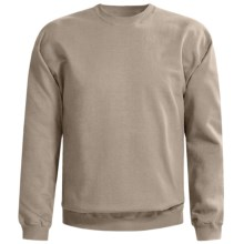 Gildan Crew Neck Sweatshirt (For Men and Women) in Tan - 2nds