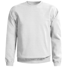 Gildan Crew Neck Sweatshirt (For Men and Women) in White - 2nds