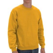 Gildan Crew Sweatshirt (For Men and Women) in Gold - 2nds