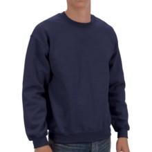 Gildan Crew Sweatshirt (For Men and Women) in Navy - 2nds