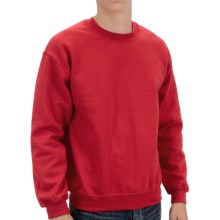 Gildan Crew Sweatshirt (For Men and Women) in Red - 2nds