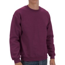 Gildan Crew Sweatshirt (For Men and Women) in Wine - 2nds
