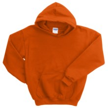 Gildan Heavy Blend Hoodie Sweatshirt - 7.5 oz. (For Youth) in Blaze Orange - 2nds