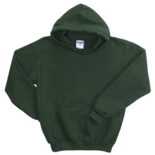Gildan Heavy Blend Hoodie Sweatshirt - 7.5 oz. (For Youth) in Dark Green - 2nds
