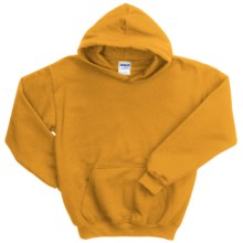 Gildan Heavy Blend Hoodie Sweatshirt - 7.5 oz. (For Youth) in Gold - 2nds