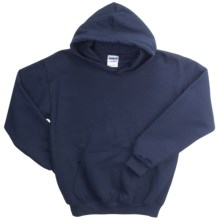 Gildan Heavy Blend Hoodie Sweatshirt - 7.5 oz. (For Youth) in Navy - 2nds