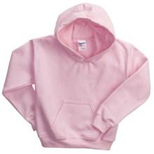 Gildan Heavy Blend Hoodie Sweatshirt - 7.5 oz. (For Youth) in Pink - 2nds