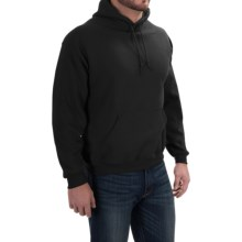 Gildan Hooded Sweatshirt - 7.75 oz. Ultra-Blend (For Men and Women) in Black - 2nds