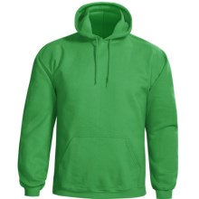 Gildan Hooded Sweatshirt - 7.75 oz. Ultra-Blend (For Men and Women) in Green - 2nds