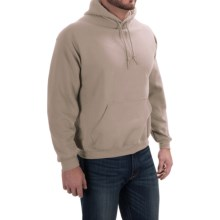 Gildan Hooded Sweatshirt - 7.75 oz. Ultra-Blend (For Men and Women) in Tan - 2nds