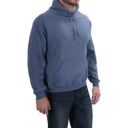 Gildan Hoodie - 7.75 oz. Ultra-Blend (For Men and Women) in Blue Grey - 2nds