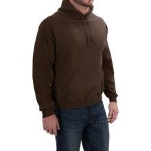 Gildan Hoodie - 7.75 oz. Ultra-Blend (For Men and Women) in Brown - 2nds